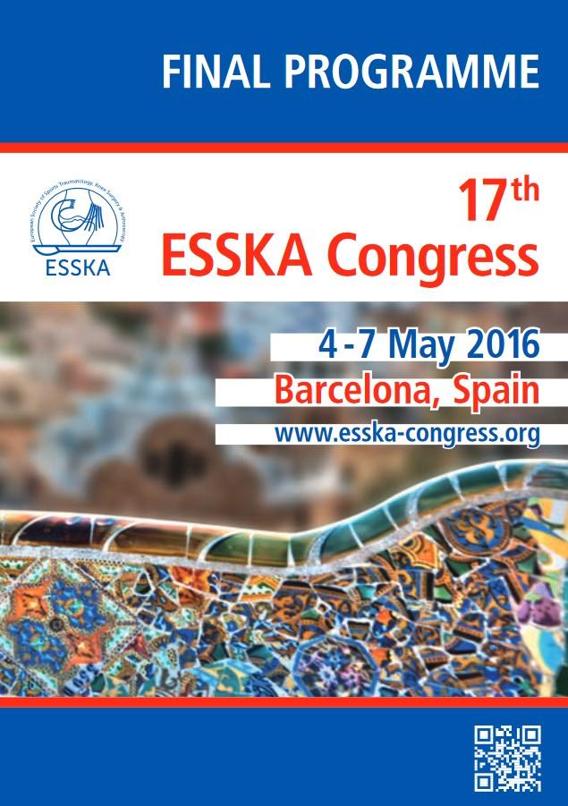 Esska-Kongress Barcelona 2016