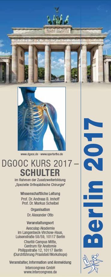 DGOOC Schulter 2017 Programm