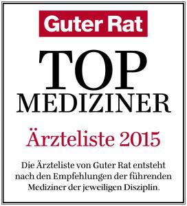 Guter Rat TOP Mediziner 2015