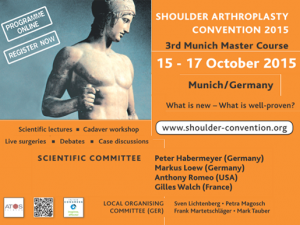 Shoulder Arthroplasty Convention 2015