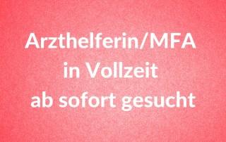 Arzthelferin/MFA