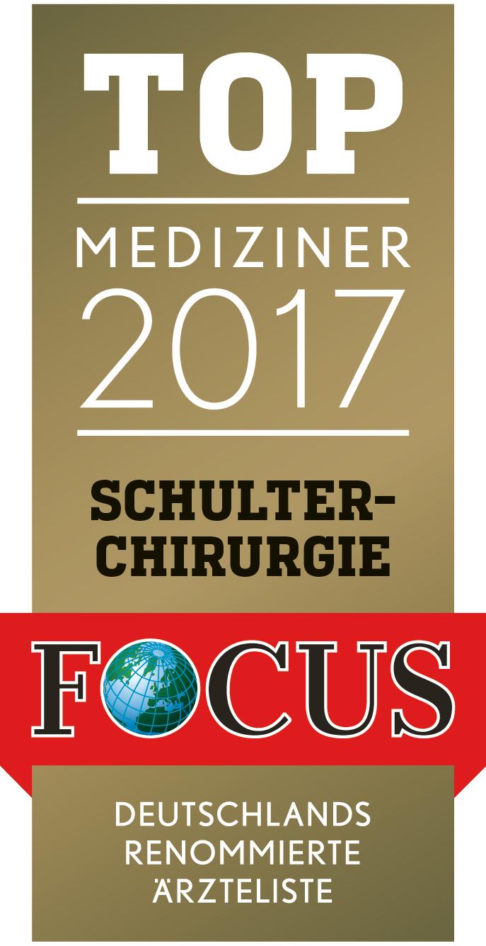 Focus Ärzte-Siegel Schulterchirurgie 2016
