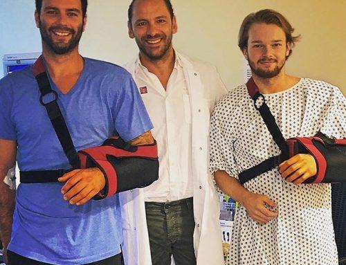 PD Dr. med. Frank Martetschläger operiert zwei Eishockeyspieler an einem Tag