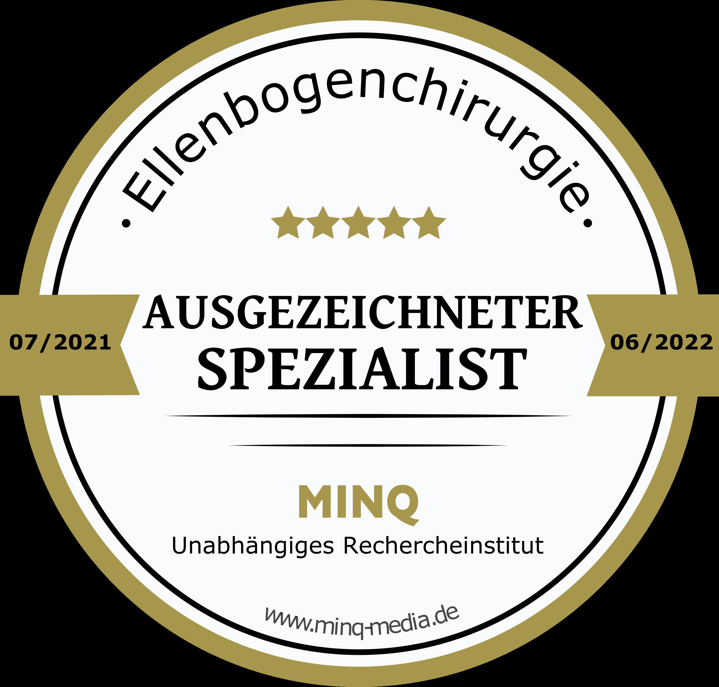 Ellenbogenchirurgie - Prof. Tauber - Ausgezeichneter Spezialist - MINQ