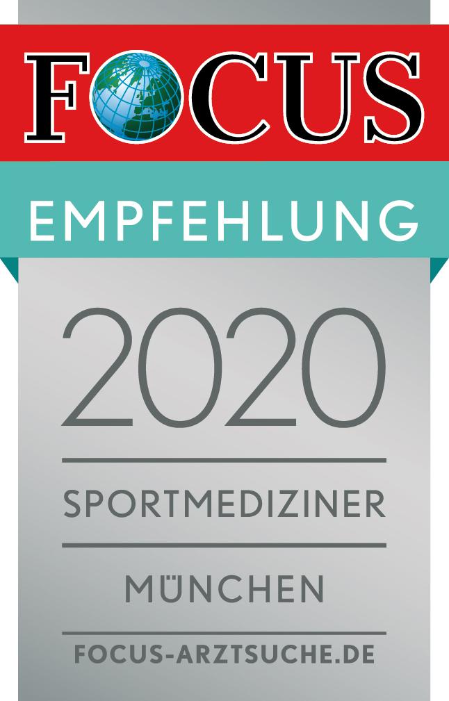 Focus 2020 Empfehlung Sportmediziner München