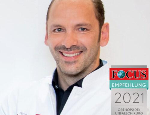 Prof. Dr. Martetschläger als empfohlener Arzt 2021 in der Region München ausgezeichnet