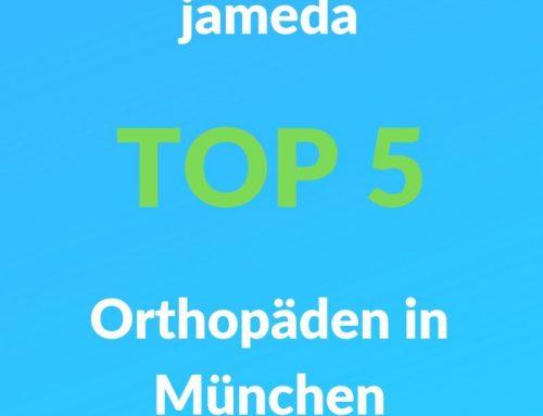 Wir gehören erneut zu den Top 5 Orthopäden in München