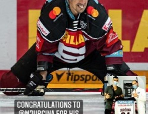 Comeback von Eishockeyspieler Milan Jurcina