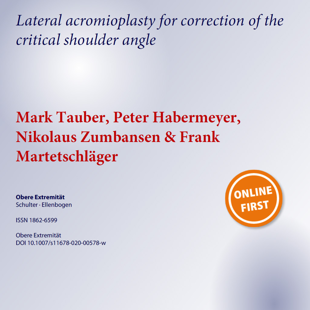 Lateral acromioplasty for correction of the critical shoulder angle