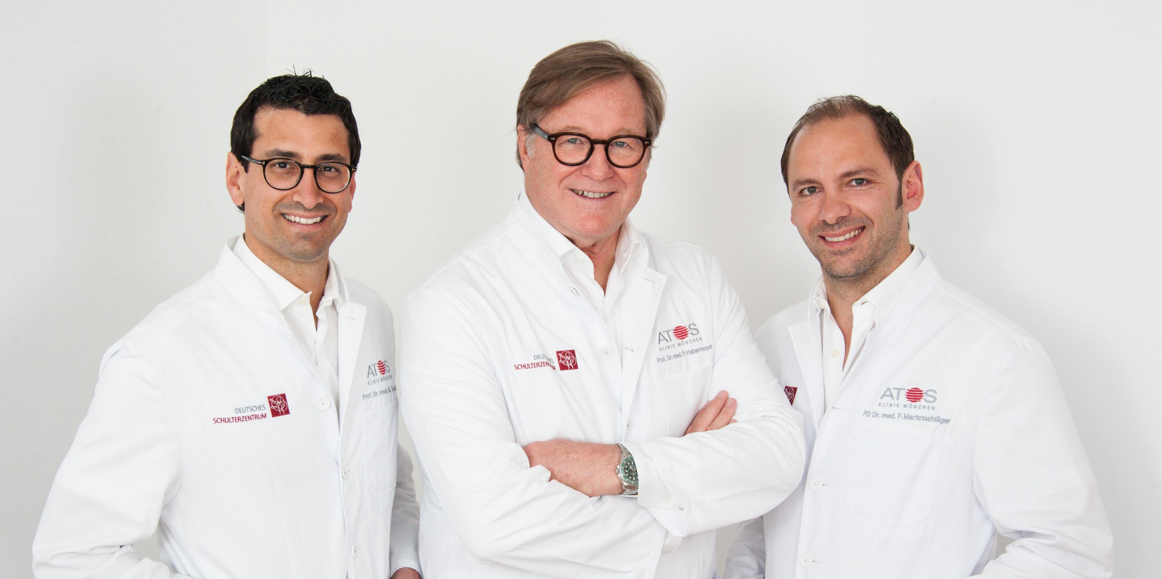 Prof. Dr. med. Tauber, Prof. Dr. med. Habermeyer, PD Dr. med Martetschläger