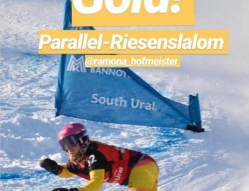 Profi-Snowboarderin Ramona Hofmeister gewinnt Gold nach Schulter-OP bei PD Dr. med. F. Martetschläger