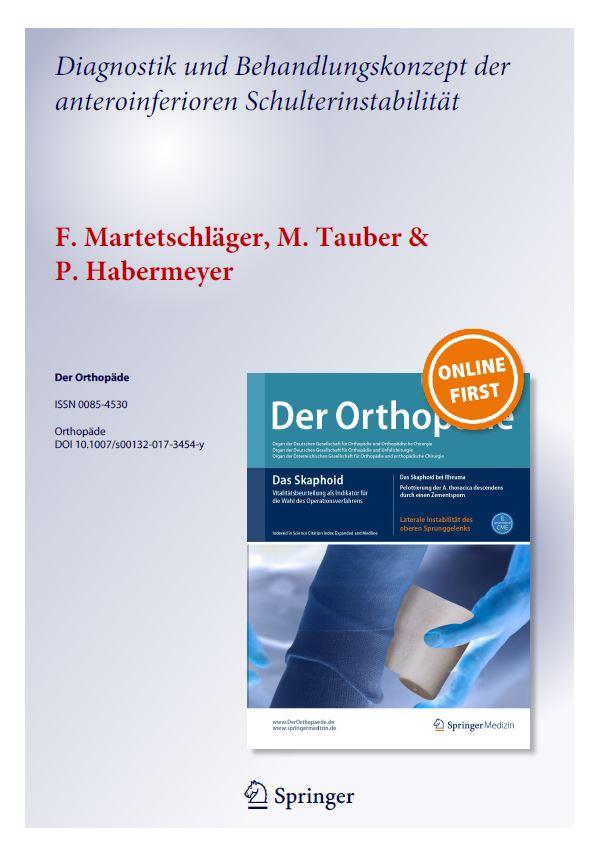 Anteroinferiore Schulterinstabilität
