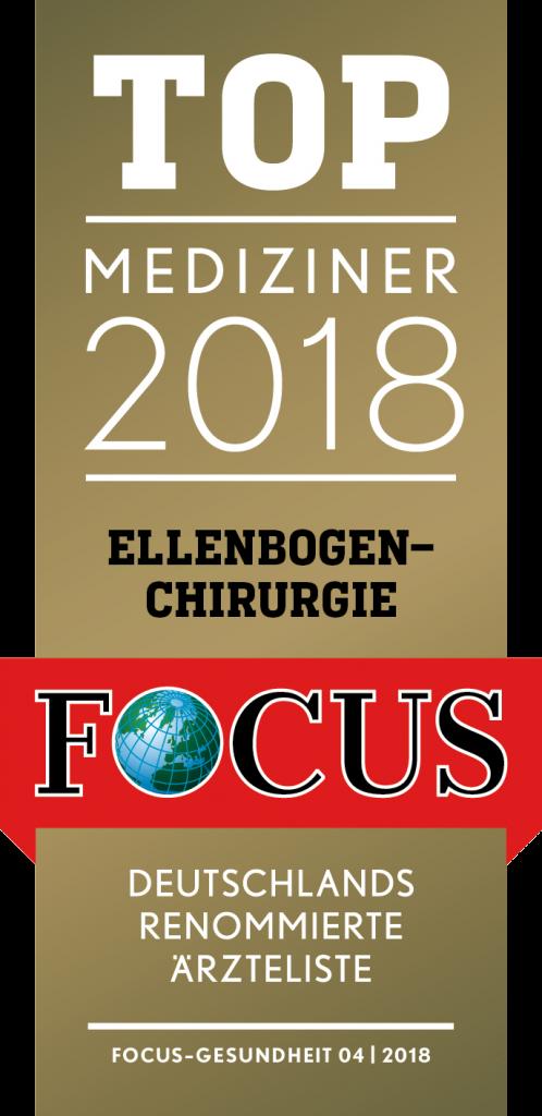 Top Mediziner 2018 Ellenbogenchirurgie Focus Gesundheit