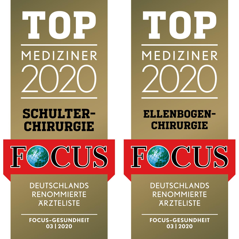 Top Mediziner 2020 Schulterchirurgie Ellenbogenchirurgie Focus Gesundheit